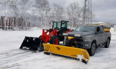 commercial snow plow services